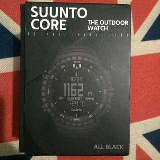 Suunto Core Black, Outdoor Watch