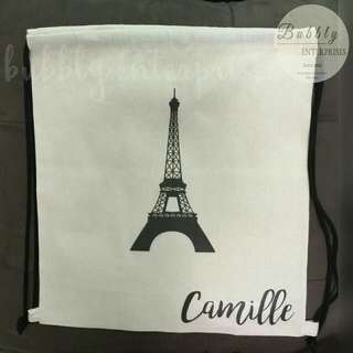 PERSONALIZED DRAWSTRING BAGS for SALE