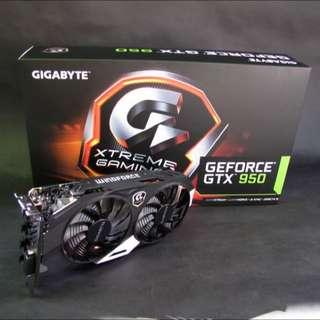 Gigabyte GTX 950 Xtreme Gaming 2GB
