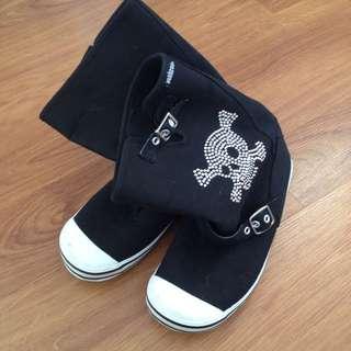 PunkRose Boots