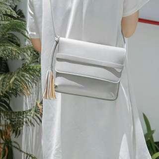 Tassel Bag Grey
