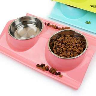 Anti Spill No Mess Pet Food Bowl