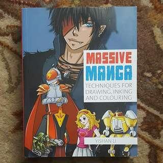 Huge Manga Drawing Book