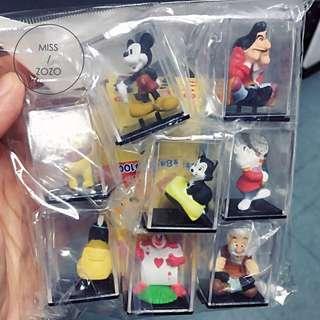 MZ::日本絕版迪士尼櫥窗小公仔