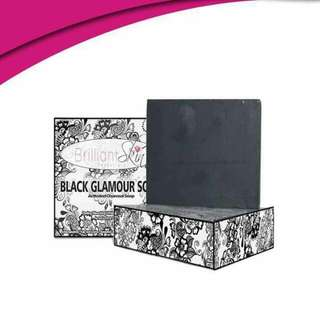 Black Glamour Charcoal Activated Soap 130g
