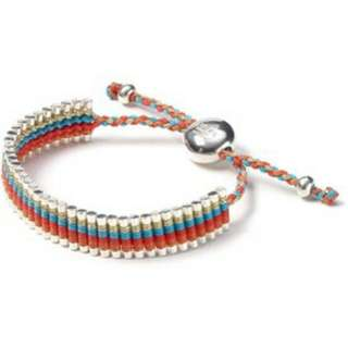 "Authentic Links Of London ""Cat Deeley"" Rainbow Bracelet"