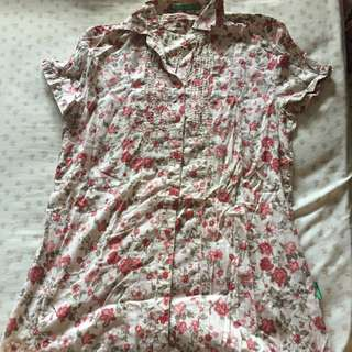 point one floral top