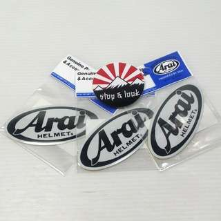 Arai Reflective Sticker