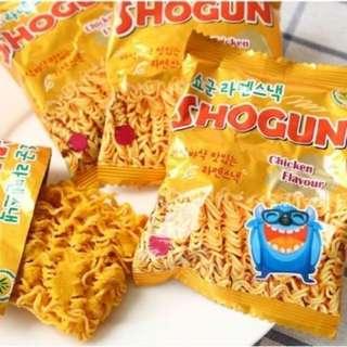韓國怪獸點心麵一盒30包