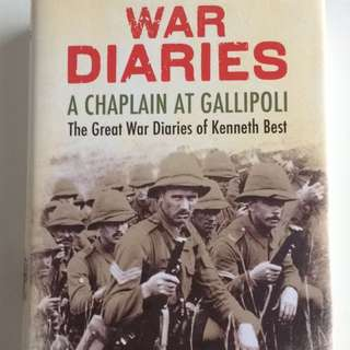 War Diaries: A Chaplain At Gallipoli