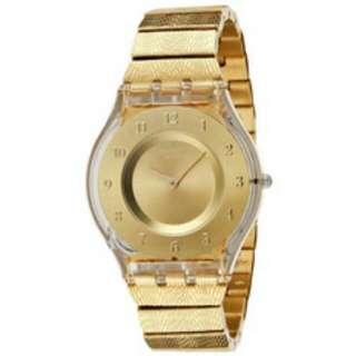 Jam Tangan SWATCH ORIGINAL SFK335G Warm Gold