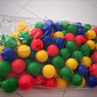 Colorful Balls for Play Tent (Brand New)
