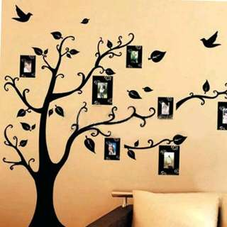 Photo Tree Wall Stickers