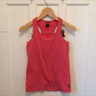 Cotton Body Active Wear Singlet
