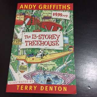 The 13-storey Treehouse - Andy Griffiths & Terry Denton