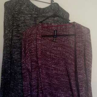 Factorie Thin Knit Cardigans Size S/M