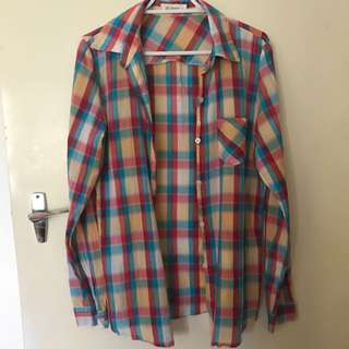 Multi Coloured Flannel