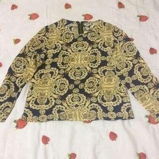 New Baju Motif Gold