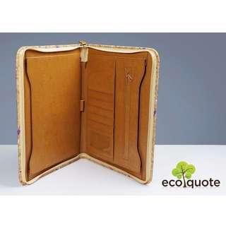 EcoQuote Stylish Folder Handmade Cork Material