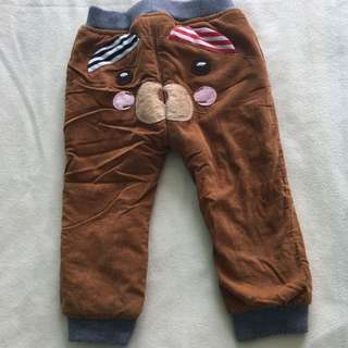 Baby Long Pants With Inner Warmer