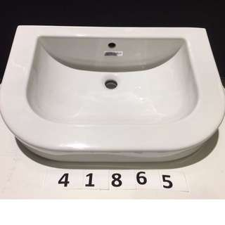 41865 Duravit Happy D inset/countertop washbasin w/ overflow
