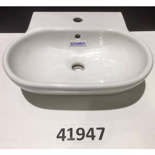 41947 Duravit wall mount washbasin w/o overflow