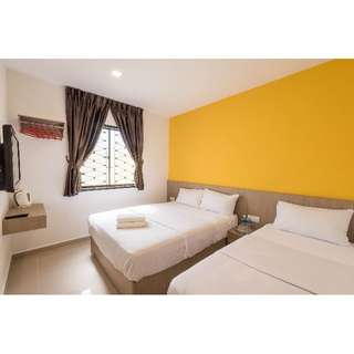 (HomeStay 21 Hotel) Deluxe Triple Room/Beside KSL CITY Mall
