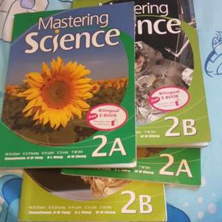 Master Science 2a And 2b Workbook Set