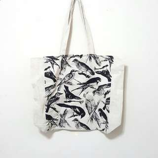 Cotton On Birds Tote Bag