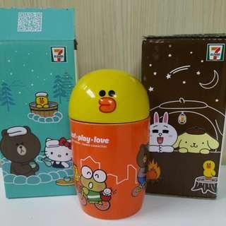 7-11 Line Friends Sally 友MUG頭陶瓷杯