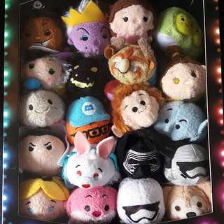 Disney 迪士尼20隻tsum Tsum 連3周年外盒