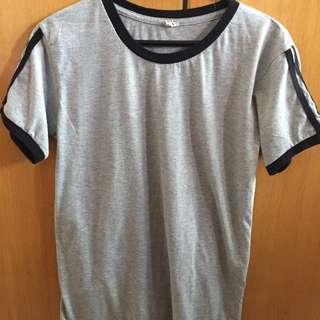 Plain grey shirt