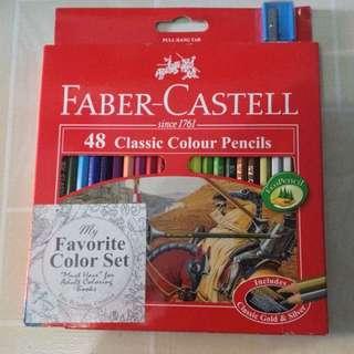 Faber-Castell 48 Classic Colour Pencils