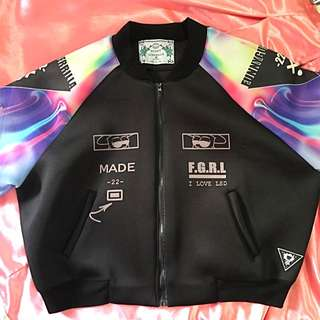 Psychedelic Bomber Jacket from Japan