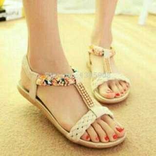 Sandal Kepang Cream