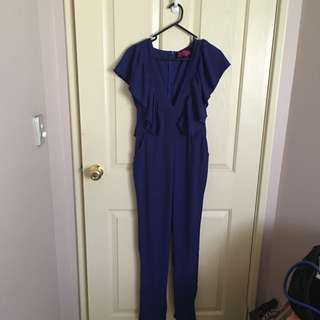 Stunning Cobalt Blue Jumpsuit