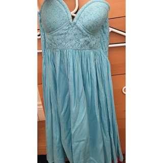 New Size 10 Light Blue Dress