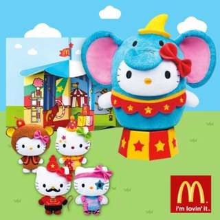McDonald Circus of Life Hello Kitty (FULL SET)