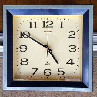 WORKING! Vintage Rhythm Clock