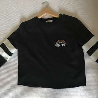 Valley girl Black Sweatshirt
