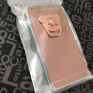 iPhone 6 Plus Cover + Lanyard + Protector