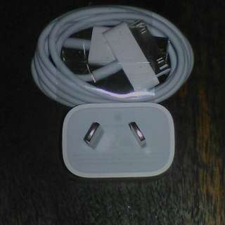 Genuine Apple iPhone 3/4 Charger Brand New.
