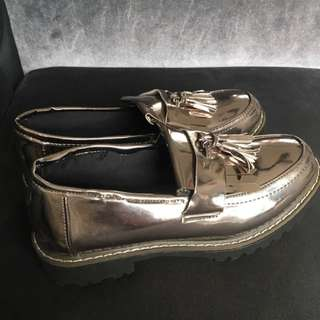 Korean Style Silver Shoes