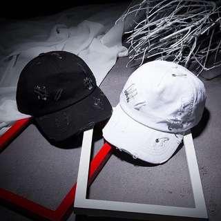 個性男女破壞別針老帽