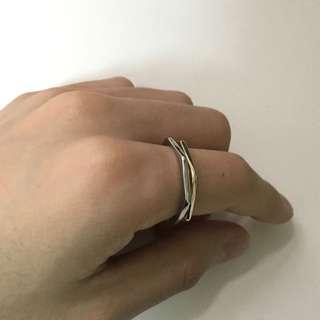全新 ASOS 極簡 幾何戒指 免運 含運 飾品 男生
