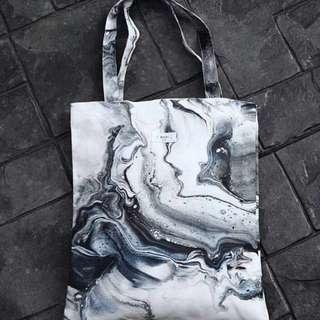Thailand Tote bag 雲石紋手袋 大理石紋手袋