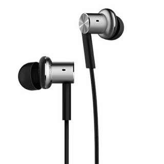 [Authentic PROMO] Xiaomi earpiece hybrid quantie silver