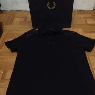 Repriced Authentic Fred Perry Mens Collared Shirt