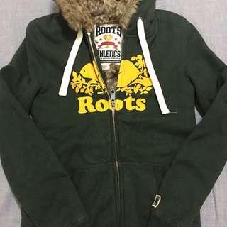 ROOTS 超級厚 連帽外套