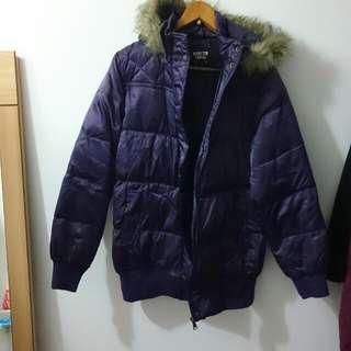 Hang Ten 羽絨大衣 紫色